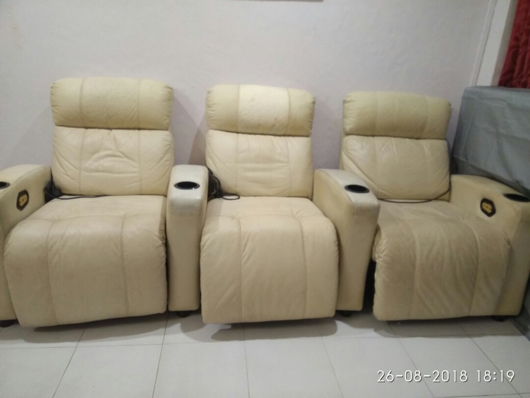 Used Recliner Sofa Chair Furniture Sofas On Carousell