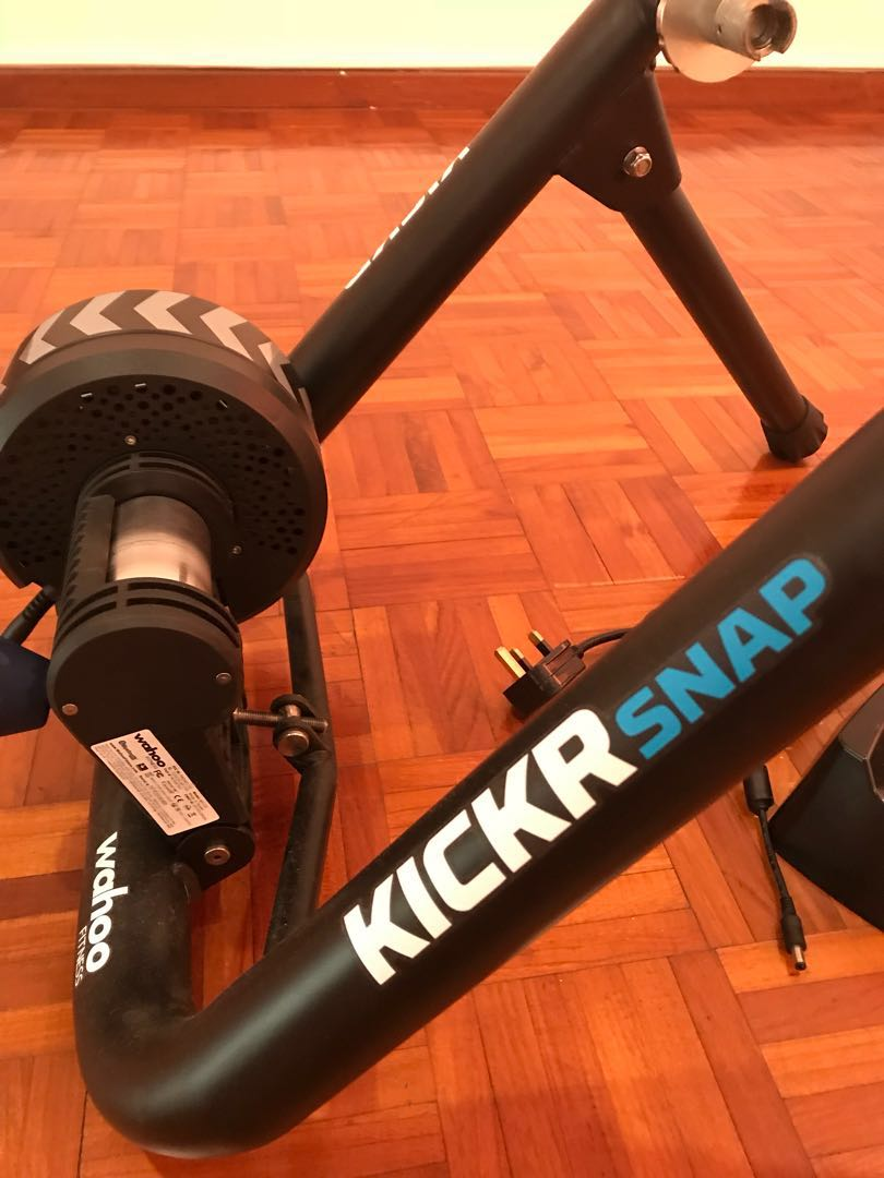 fb8953a4345 Wahoo Kickr Snap smart trainer. ( wheel on ) with front wheel block ...