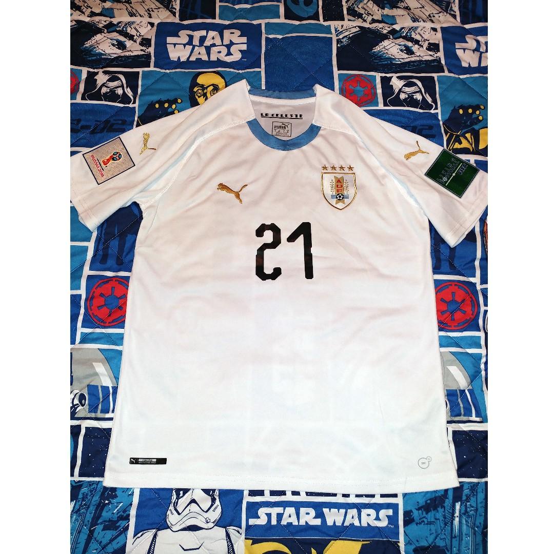 designer fashion 5bb67 2ef8c WC2018 - Uruguay - Edinson Cavani - Away Jersey. Brand New. Medium size  with E.Cavani name, #21 & World Cup Badges