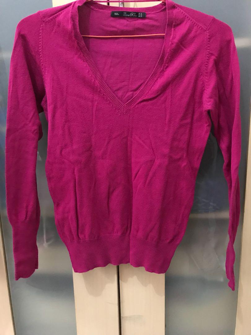 Zara knitwear in pink