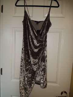 Suade dress size M
