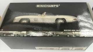 1:18 Benz 300 SL 合金模型