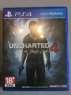 🚚 Uncharted 4 (English/Chinese version)