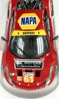 1:18法拉利 458 GT2 合金模型