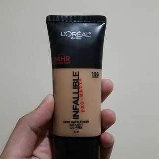 Infalible Pro-matte Foundation