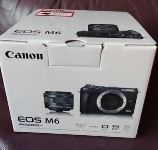 Canon EOS M6 M15-45 IS STM
