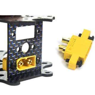 XT60E-M Mountable XT60 Male Plug connector