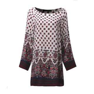 🚚 Printed Mini Dress