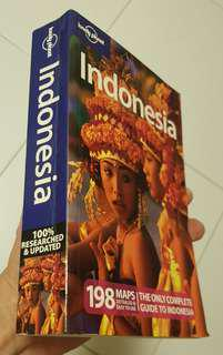 Lonely planet guide to Indonesia