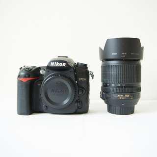 Nikon D7000 with Nikon 18-105mm F3.5-5.6G + FREE GIFTS