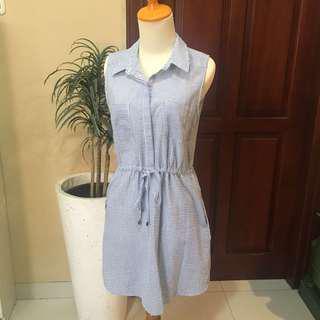 Forever21 blue stripes dress