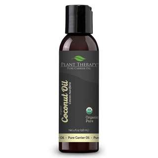 Organic Fractionated Coconut Carrier Oil 118ml/PLANT THERAPY (IN STOCKS!!!)