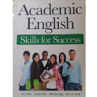 Academic English - Skills for Success (HKU published)