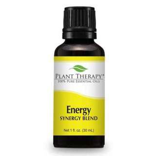 Energy Synergy Essential Oil 30ml/PLANT THERAPY (IN STOCKS!!!)