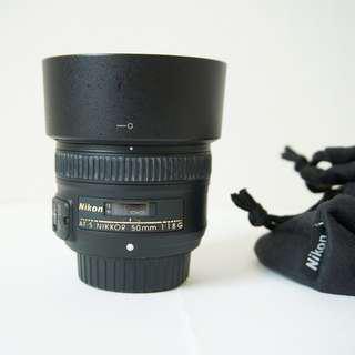 Nikon AF-S Nikkor 50mm F1.8G