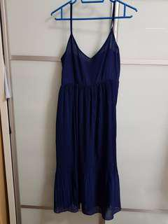 Navy Blue Dinner Dress