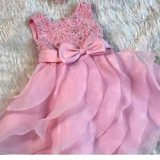 Birthday or Party Dress for one year old