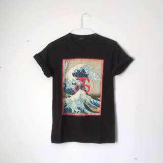 Stüssy The Great Wave Graphic Tee