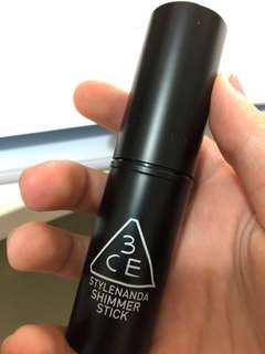 3CE Shimmer Stick Peach