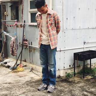 Lee Union Made Distressed Denim (U.S.A.)