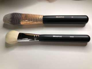 Morphe face brushes