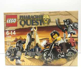 LEGO Pharaoh's Quest Golden Staff Guardians (7306) 樂高 絕版