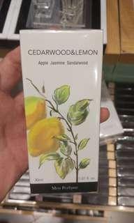 Parfum Miniso CEDARWOOD & LEMON