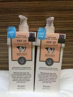 whitening Body Lotion SPF 25 Co-Enzyme Q10