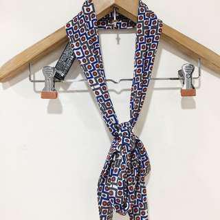 Zara Retro tie scarf