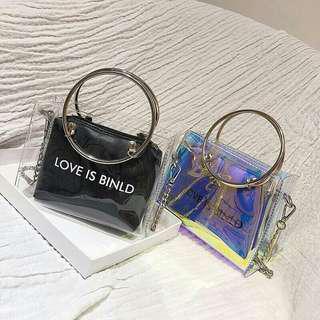 Transparent Bag sling bag