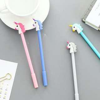 4 pcs unicorn pen
