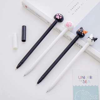4 pcs cat pen