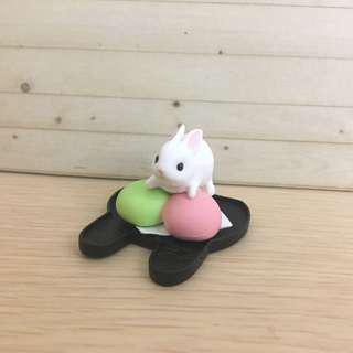 點心兔 兔子 扭蛋 公仔