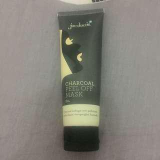Masker wajah jordanie's dead sea mud and charcoal peel off mask