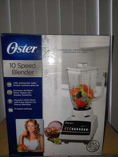 FOR SALE : OSTER 10 Speed BLENDER