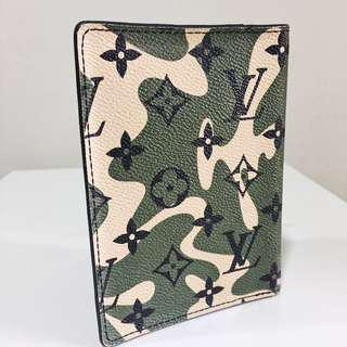 Louis Vuitton Monogramouflage Passport Holder