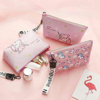 unicorn makeup travel bag case