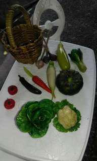 Miniature veggies