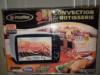 FOR SALE : IMARFLEX Electric OVEN 3in1