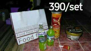 Miniature food / grocery