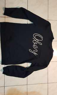 Sweater Obey blue navy