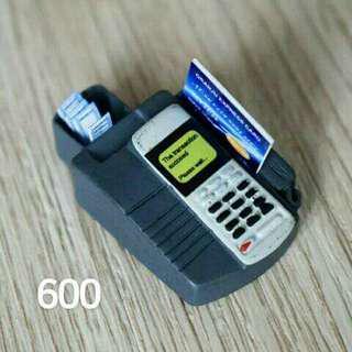 Miniature POS credit card machine
