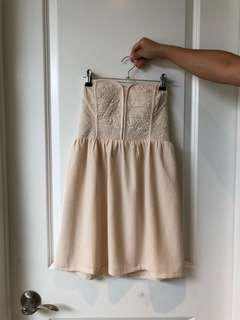 Urban Outfitter Strapless Dress