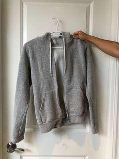 American Apparel Zip-up sweater