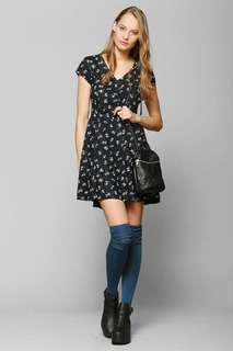 Band of Gypsies button down swing dress | Urban Outfitters | Size S