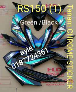 COVERSET RS 150 CROME DESIGN