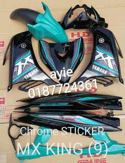 COVERSET LC135 MX KING CROME