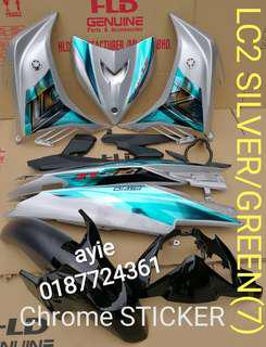 COVERSET LC135 CROME