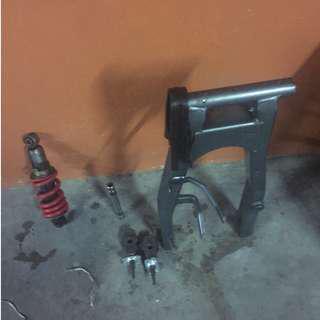 Swing arm 125 & mono shock absorber 125