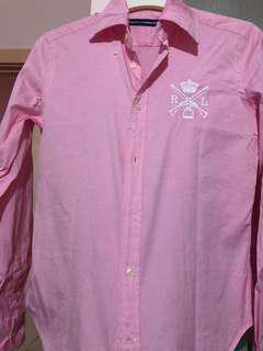 2 x Ralph Lauren shirt size 8